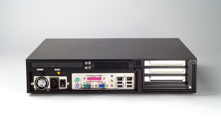 Ipc 603mb 2u 3 Slot Rackmount Chassis For Atx Microatx