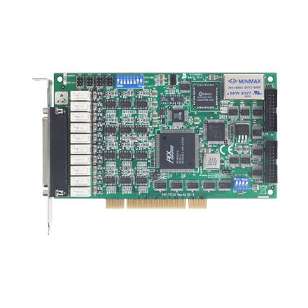デジタルI/O搭載14-bit,  12チャンネル・アナログ出力PCIカード