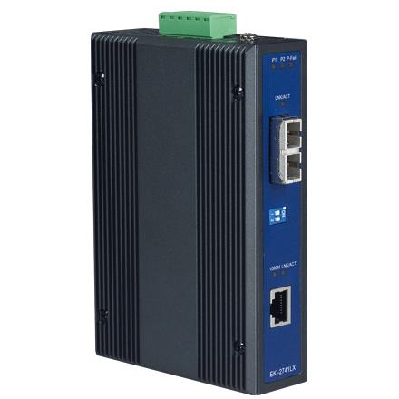 ETHERNET DEVICE, Giga Ethernet to 1000Base-LX Fiber Converter