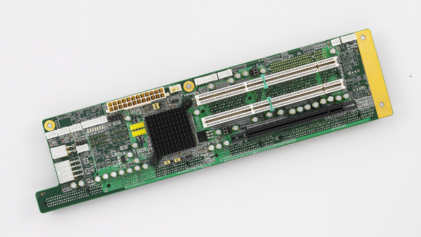 5-slot PICMG1.3 Butterfly Backplane, 1PCIe, 3PCI-X, RoHS