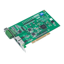 2-port AMONet RS-485 PCI Master Card