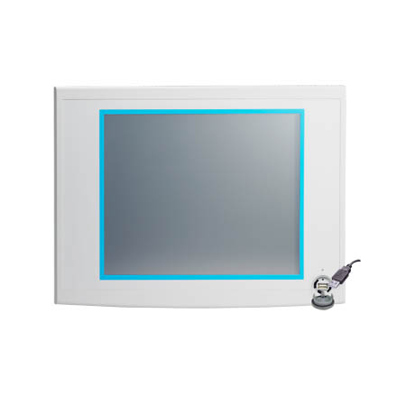 "Industrial Grade Monitor 17"" Res TS,1280 x 1024, 10-30v pover input, 0 ~ 50°C operating temperature"