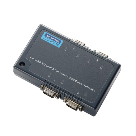 4-port RS-232 Serial to USB Converter