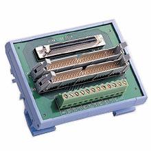 SCSI-68 to 2*IDC-50 Converter, DIN-rail Mount