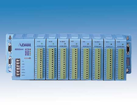 8-slot Distributed DA&C System Based on RS-485