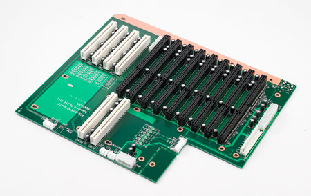 13-Slot PICMG 1.0 Backplane with 7xISA, 4xPCI, 2xPICMG and RoHS Support