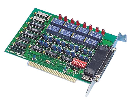 8-ch Relay and 8-ch Isolated Digital Input ISA Card
