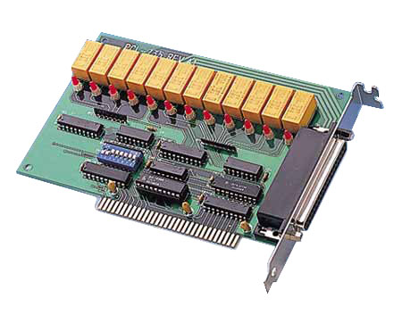 12-Channel Relay ISA Card