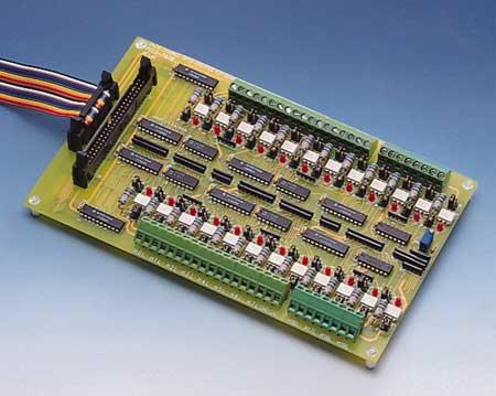 24 Channel Opto-Isolated DI Board