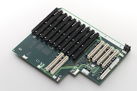 14-Slot Backplane with 8xISA, 4xPCI, 2xPICMG and RoHS Support