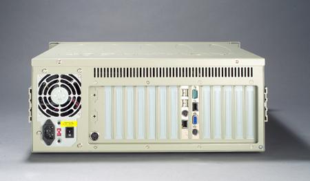 4Uサイズ 19インチラックマウントシャーシ  IPC-510 バックプレーン対応,電源別売