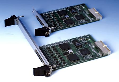 3U cPCI 8-port RS-232 Comm. Card