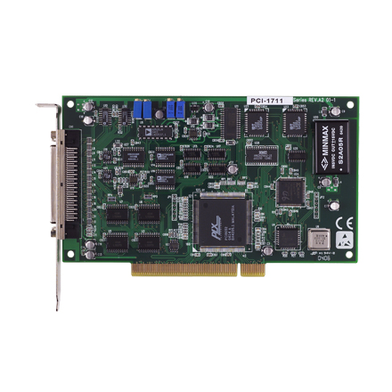 Entry-level 100 kS/s, 12-bit, 16-ch Universal PCI Multifunction Card