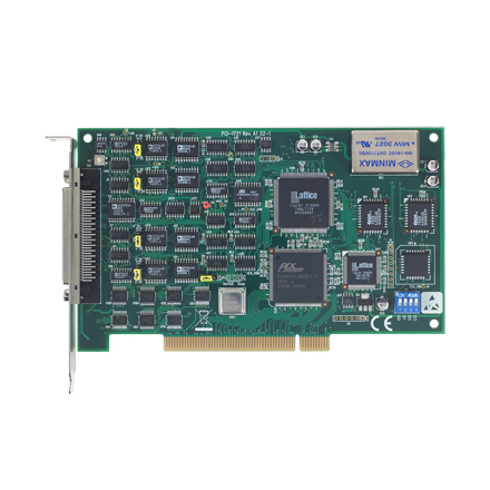 4-Channel High-speed Analog Output Universal PCI Card, 12bit