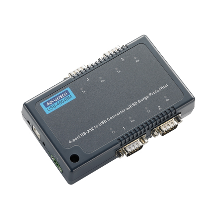 4-port RS-232/422/485 Serial to USB Converter