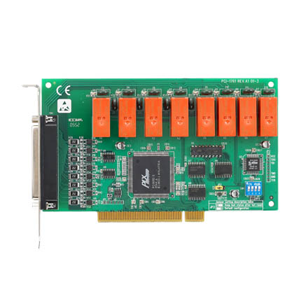 8 channel Relay & 8 channel Isolated Digital Input Card