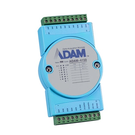 Robust 15-ch Digital I/O Module with Modbus