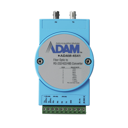 Fiber Optic To RS-232/422/485 Converter