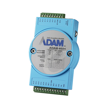 12-ch Isolated Universal Input/Output Modbus TCP Module