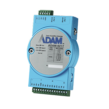 8-channel Isolated Analog Input Modbus TCP Module