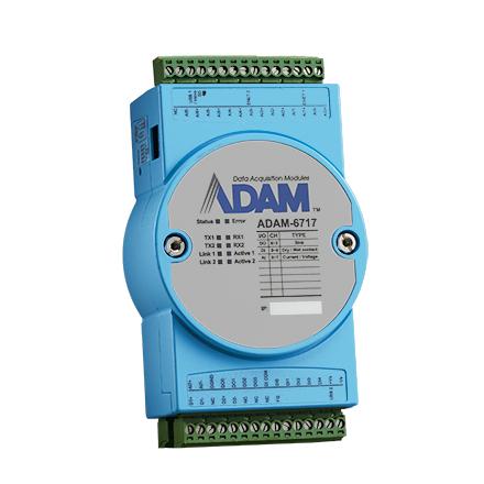 <b>精簡型智慧閘道器-類比輸入介面</b><li>Compact Intelligent Gateway with Analog Input