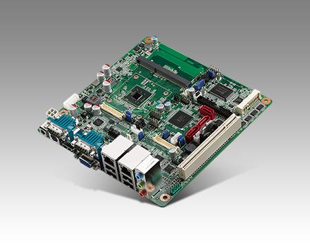 CIRCUIT BOARD, ATOM D2550 MINI ITXw/VGA,2LVDS,2GbE,6COM,ASM1061