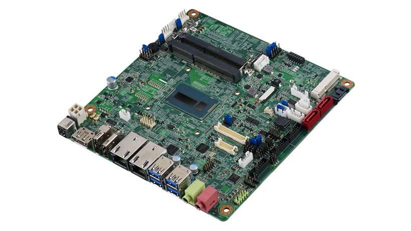 Intel<sup>®</sup> Core™ i7-5650U/i5-5350U/i3-5010U/ Celeron 3765U Mini-ITX Broadwell-U, eDP/DP/DP++