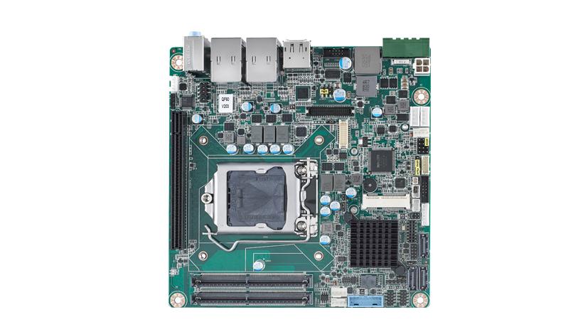 Mini-ITX with 6th gen Intel<sup>®</sup> Core™ i7/i5/i3, VGA/DP++/HDMI 2.0, LVDS, 2 COM, 2 GbE, 1 M.2, 6 USB 3.0, 4 USB 2.0