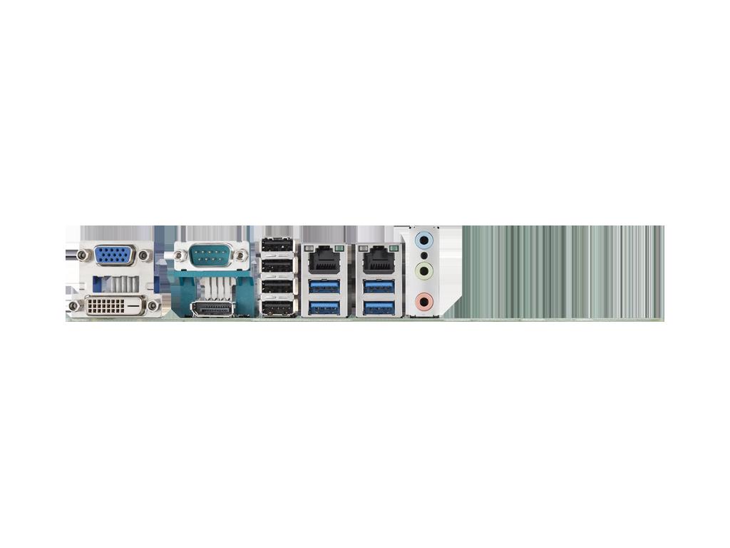 CIRCUIT BOARD, LGA1151 mATX DP/DVI/eDP/SATAIII/10 COM/H110