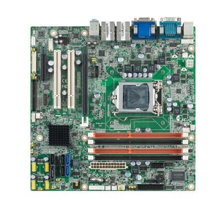 CIRCUIT BOARD, LGA1155 mATX VGA/DVI/LVDS/DP/PCIe/6 COM/Q77/TPM