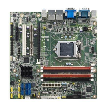 Micro ATX Motherboard with Intel <sup>&#174;</sup> Xeon <sup>&#174;</sup> / Core™ i7/i5/i3 LGA1150 C226, VGA/DVI/DP/LVDS/eDP, SATAIII