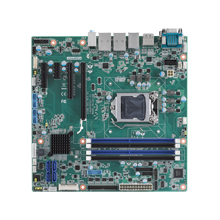 Industrial Micro-ATX Motherboard with Intel<sup>®</sup> Xeon<sup>®</sup> LGA1151 with DP/DVI/HDMI/eDP, SATAIII, 6 COM