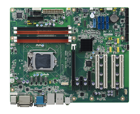 4th Generation  Intel<sup>®</sup> Core™ i7/i5 ATX board with DVI/VGA,6 COM,  Dual LAN and DDR3