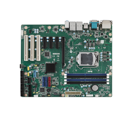 LGA1151 6th Gen Intel<sup>®</sup> Core™ i7/i5/i3 ATX Motherboard with Triple Display, Dual GbE, DDR4, SATA3