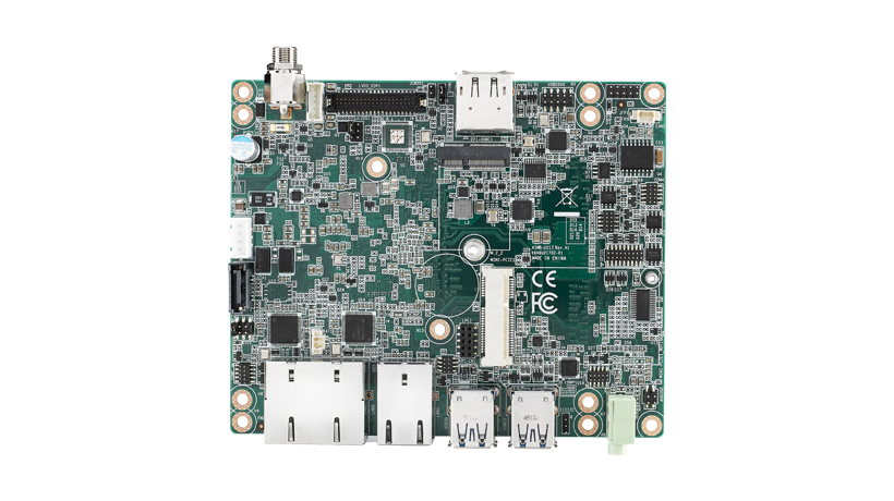 Industrial grade UTX Motherboard with Intel<sup>®</sup> Atom™ Qual core E3940  and HDMI/DP/eDP/2GbE
