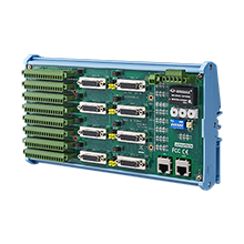 8-axis EtherCAT Motion Slave Module with 16DI/16DO