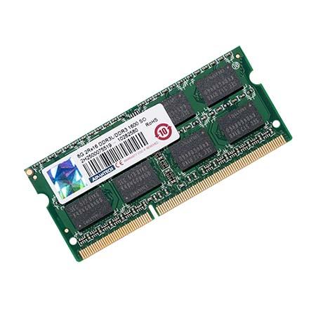 Advantech 8G SO-DDR3-1600 204Pin 512MX8 1.35V Unbuffered Samsung Chip