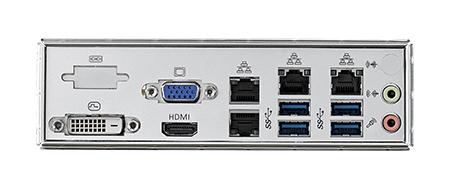 LGA 1151 ATX Server Board C246 GbEx4