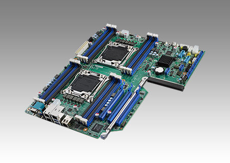 Dual LGA 2011-R3 Intel<sup>®</sup> Xeon<sup>®</sup> E5 EATX Server Board with 16 DDR4, PME