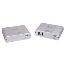 Ranger 2212: 2-port USB 2.0-1.1 Extender, 100m, Cat5, 100-240V NATAM PS