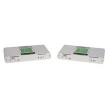Raven 3124: 4-port USB 3.1-2.0-1.1 Extender, 200m, MM Fiber, 100-240V NATAM PS