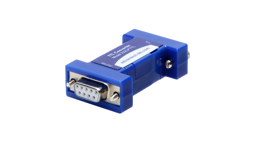 Serial Converter, RS-232 DB9 F / 5 V TTL DB9 M, Port Powered