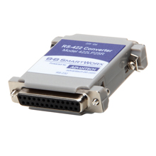 Serial Converter, RS-232 DB-25 F to RS-422 DB25 M, Port Powered