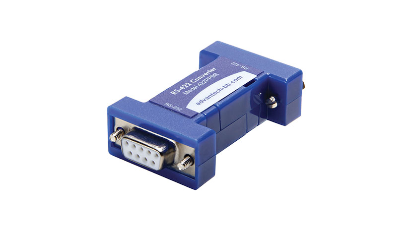 Serial Converter, RS-232 DB9 F to RS-422 DB9 F, Port Powered