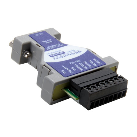 RS-232 to RS-485 Converter – pluggable terminal block