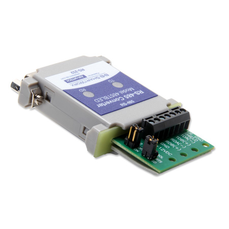 Serial Converter, RS-232 DB25 F to RS-485 TB