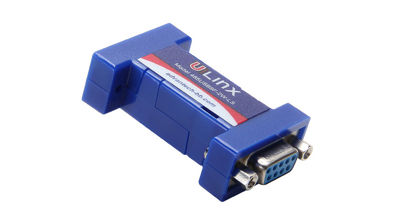 Serial Converter, USB 2.0 Locked Serial Number to RS-485 2W DB9 F
