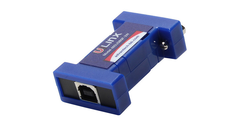 High Retention USB to DB-9 RS-485 Converter