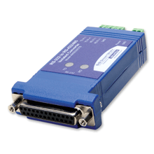 Isolated In-line Serial Converter – DB25F/Terminal Blocks