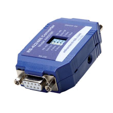 Serial Converter, RS-232 DB9 F to RS-422/485 DB9F, Port Power Ability